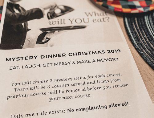 Family Fun Mystery Dinner